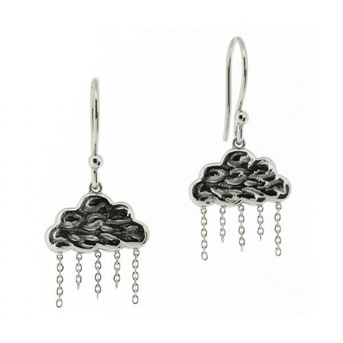 Silver Cloud Earrings